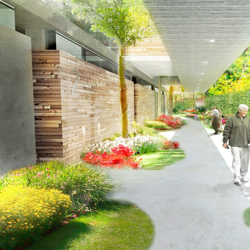 Architectural project, Tender for Senior Adults Housing in Chia, Cundinamarca.