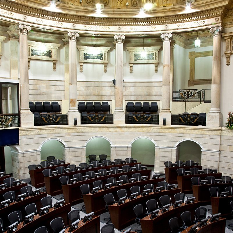 Interior design and remodeling of government buildings