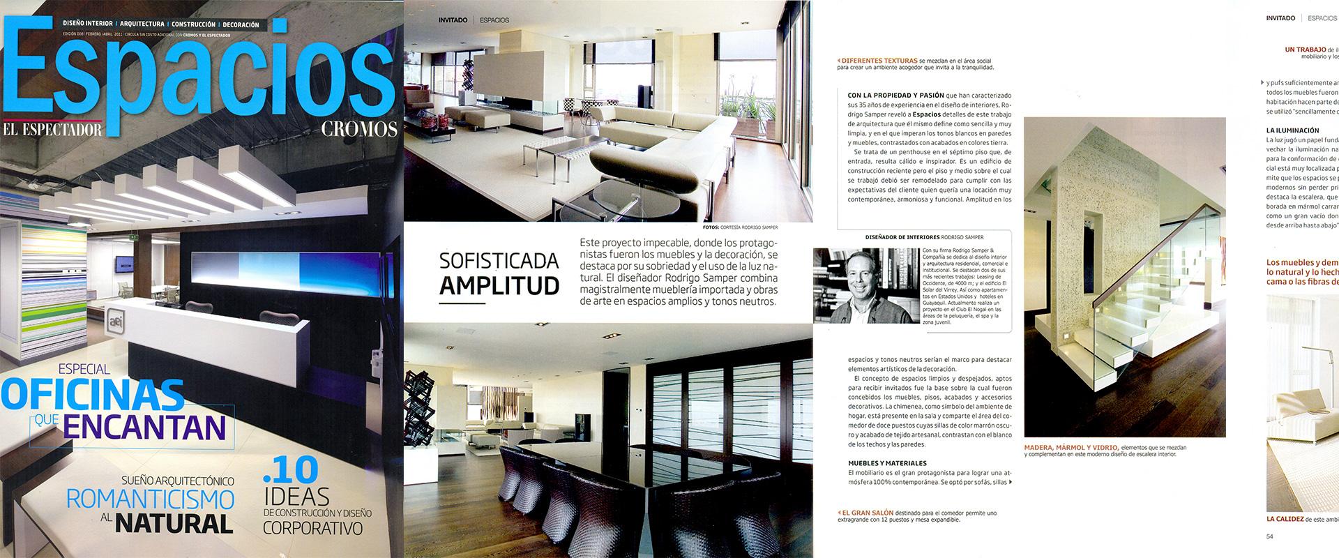 Revista de diseo de interiores perfect revista de diseo for Cosas de casa revista decoracion