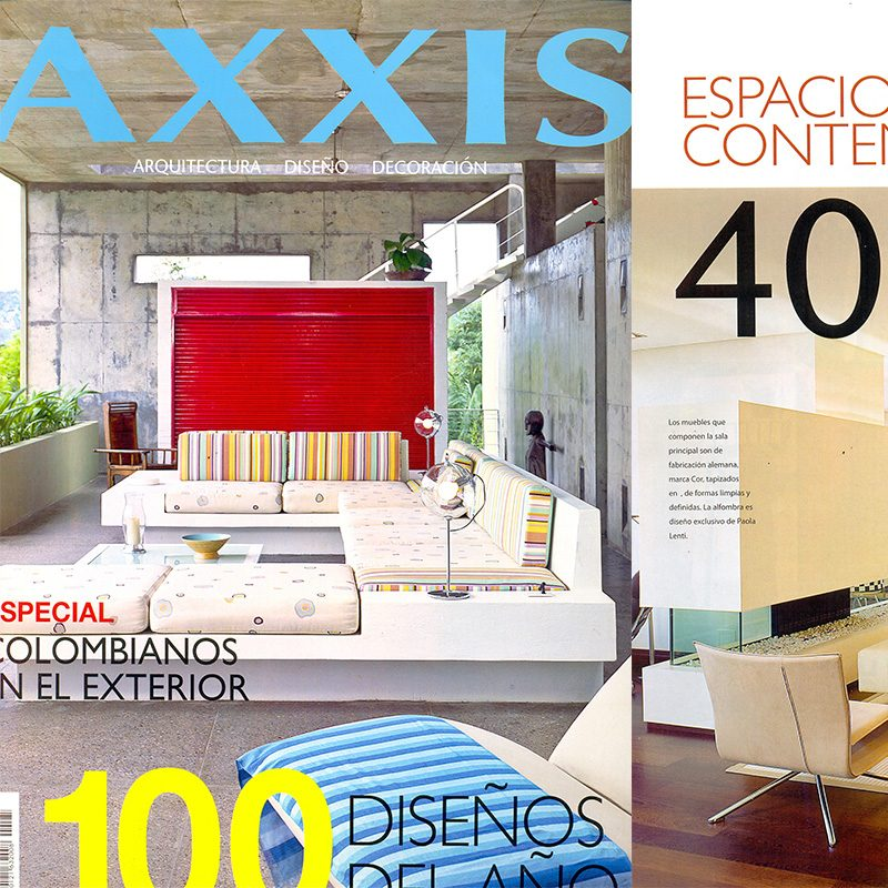 axxis-2008-158, CONTEMPORARY SPACES Pp. 126 -130