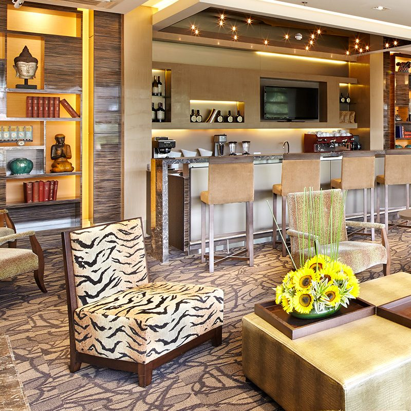 Interior design and remodeling of hotels.